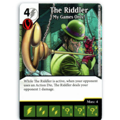The Riddler - My Games Only! (Die & Card Combo)