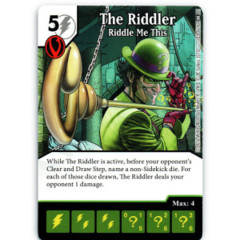 The Riddler - Riddle Me This (Die & Card Combo)