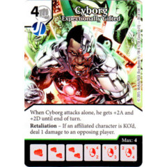 Cyborg - Exceptionally Gifted (Die & Card Combo Combo)