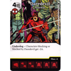 Daredevil - Fearless (Die & Card Combo)