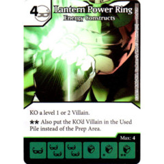 Lantern Power Ring - Energy Constructs (Die & Card Combo Combo)
