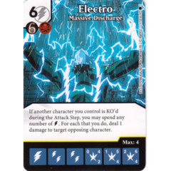 Electro - Massive Discharge (Die & Card Combo)