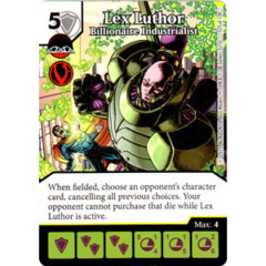 Lex Luthor - Billionaire Industrialist (Die & Card Combo Combo)