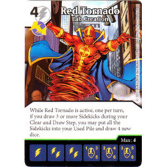Red Tornado - Lab Creation (Die & Card Combo Combo)