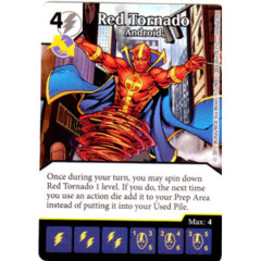 Red Tornado - Android (Die & Card Combo Combo)