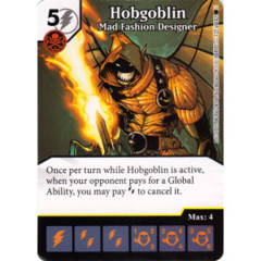 Hobgoblin - Mad Fashion Designer (Die & Card Combo)
