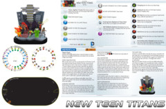 Heroclix New Teen Titans (T001) NO MINIS team base/dial/map only Teen Titans