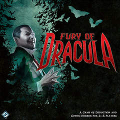 Fury of Dracula: (3rd Third Edition) board game fantasy flight
