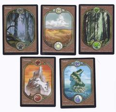 Full Art Basic Land set (1 of each type)
