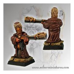 Moscals Army: Strielec Standing 3 Dwarf Scibor Monstrous Miniatures