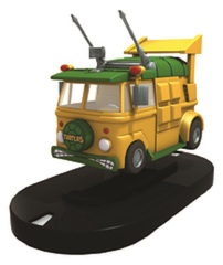 Heroclix: TMNT Teenage Mutant Ninja Turtles Turtle Van road to worlds 2016 exclusive promo