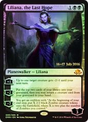 Liliana, the Last Hope - Foil Prerelease Promo