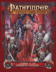 Pathfinder RPG Adventure Path: Curse of the Crimson Throne Hardcover Paizo