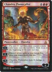 Chandra, Flamecaller - Foil Prerelease Promo