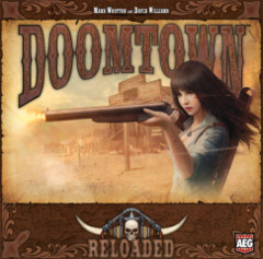Doomtown: Reloaded base/core 2014 edition board card game AEG