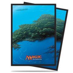 Ultra Pro Mana Series 5 John Avon art Blue ISLAND Card Sleeves (80-ct)