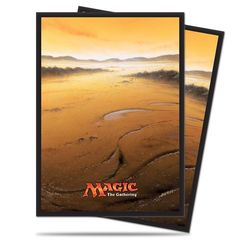 Ultra Pro Mana Series 5 John Avon art White PLAINS Card Sleeves (80-ct)
