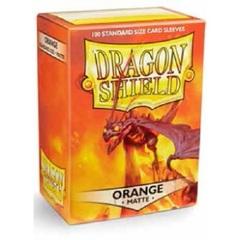 Dragon Shield: MATTE ORANGE card sleeves (100 count) fantasy flight