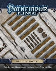 Pathfinder Flip-Mat: PRESALE Arcane Library paizo