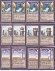 12x x12 ANTIQUITIES Urza's Land (4 tower, 4 power plant, 4 mine)
