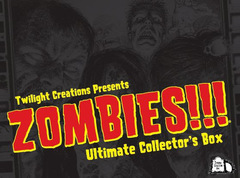 Zombies!!! PRESALE Ultimate Collector's Box board game twilight creations
