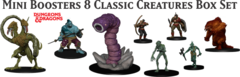 Dungeons and Dragons Icons: PRESALE Classic Creatures miniatures box set 1
