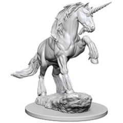 Pathfinder Deep Cuts Unpainted Miniatures: Unicorn (pack of 1)