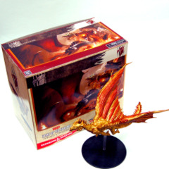 D&D miniatures Tyranny of Dragons Ancient Huge Brass Dragon