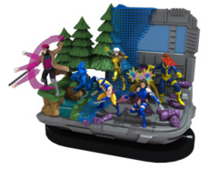 X-Men: Blue Strike Force (T001) NO MINIS team base/dial/map only