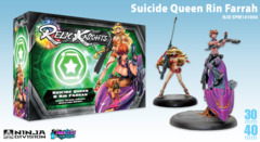 Relic Knights: Dark Space Calamity Suicide Queen Rin Farrah (cerci speed circuit)