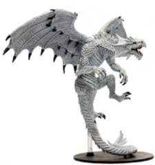 Pathfinder Battles Miniatures GARGANTUAN White Dragon Reign of Winter