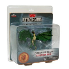 D&D Dungeons & Dragons Attack Wing: Green Dragon expansion pack