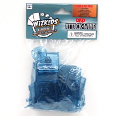 D&D Dungeons & Dragons Attack Wing: BLUE base and peg Set
