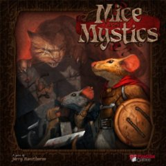 Mice and Mystics: base/core board game plaid hat
