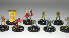 Iron Maiden complete set of all 9 miniatures