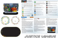 Heroclix Justice League (T002) NO MINIS team base/dial/map only Teen Titans