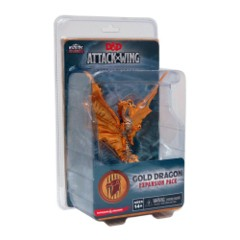 D&D Dungeons & Dragons Attack Wing: Gold Dragon expansion pack