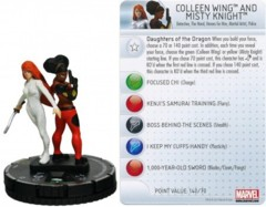 Colleen Wing and Misty Knight