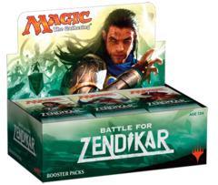 Battle for Zendikar Booster Box - English