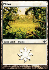50 Basic Lands - Plains