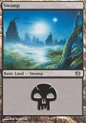 50 Basic Lands - Swamp