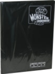 Monster Protectors 9 Pocket Matte Black Binder