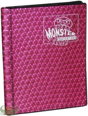 Monster Binder 2 pocket Pink