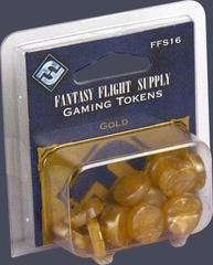 Fantasy Flight Gaming Tokens - Gold
