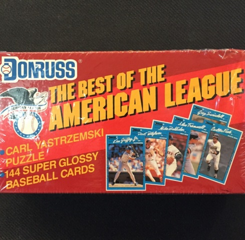 Card Exchange 1990 Donruss Best American League Baseball
