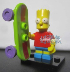 Bart Simpson Lego minifigures The Simpsons Loose Figure