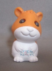 Orange Hamster Pet Gomu Collectible Eraser