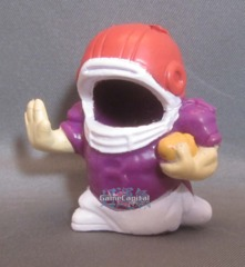 #01 Football Player 'Sports' Bod 2011 Mighty Beanz Bodz Outfit Costume