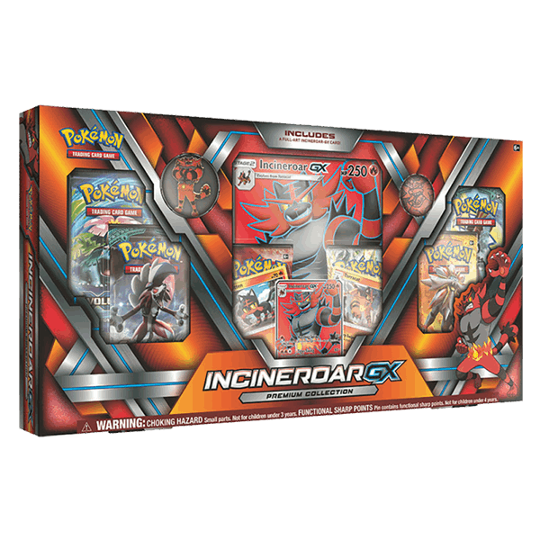 Incineroar-GX Premium Collection
