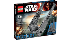 Kylo Ren's Command Shuttle 75104